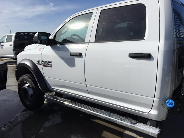 2017 Ram 5500 Crew Cab DRW 4x4, Knapheide Platform Body #R1217 - photo 8