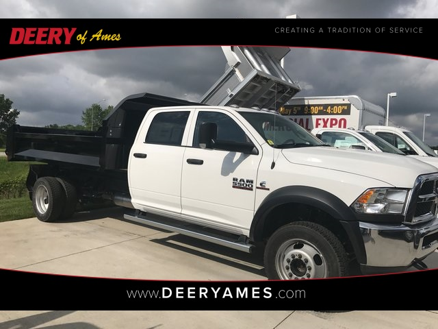 2017 Ram 5500 Crew Cab DRW 4x4, Knapheide Drop Side Dump Bodies Dump Body #R1349 - photo 1