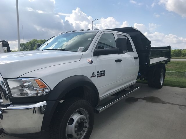 2017 Ram 5500 Crew Cab DRW 4x4, Knapheide Dump Body #R1349 - photo 4