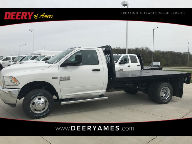 2017 Ram 3500 Regular Cab DRW 4x4, Knapheide PGNB Gooseneck Platform Body #R1350 - photo 1