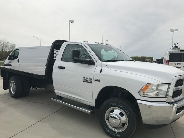 2017 Ram 3500 Regular Cab DRW 4x4, Knapheide Platform Body #R1350 - photo 4