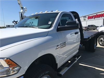 2017 Ram 3500 Regular Cab DRW 4x4, Knapheide PGNB Gooseneck Platform Body #R1360 - photo 4