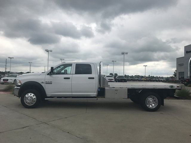 2017 Ram 5500 Crew Cab DRW 4x4, M H EBY Platform Body #R1540 - photo 4