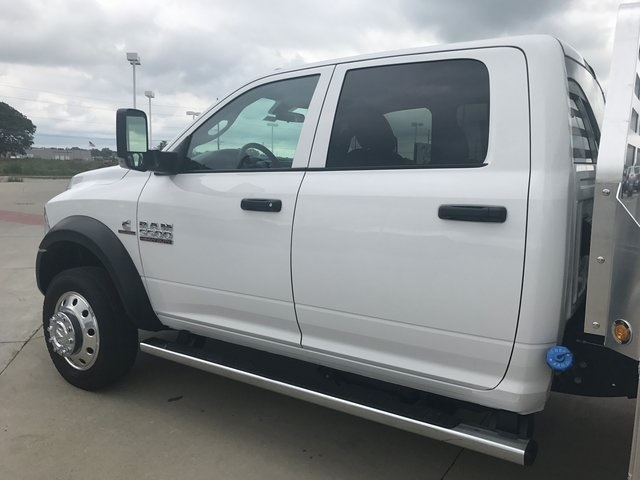 2017 Ram 5500 Crew Cab DRW 4x4, M H EBY Platform Body #R1540 - photo 8