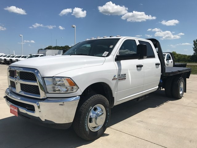 2017 Ram 3500 Crew Cab DRW 4x4, Knapheide Platform Body #R1578 - photo 4