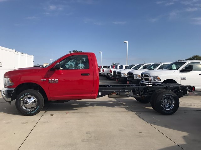 2018 Ram 3500 Regular Cab DRW 4x4 Cab Chassis #R1653 - photo 4