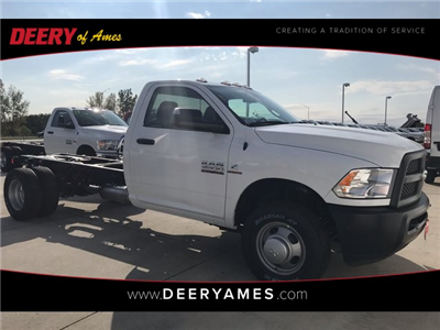 2018 Ram 3500 Regular Cab DRW 4x4 Cab Chassis #R1667 - photo 1