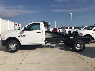 2018 Ram 3500 Regular Cab DRW 4x4 Cab Chassis #R1667 - photo 4