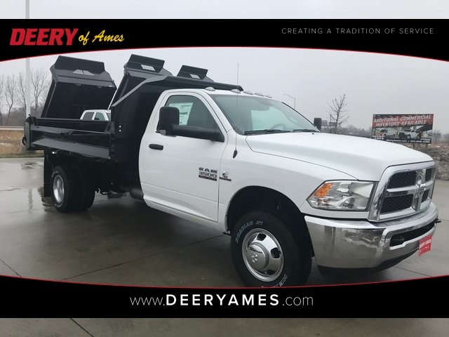2018 Ram 3500 Regular Cab DRW 4x4,  Knapheide Drop Side Dump Body #R1694 - photo 1