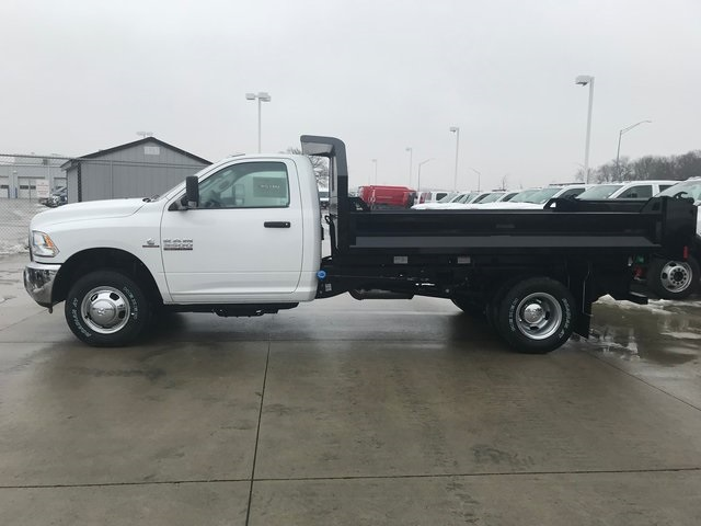 2018 Ram 3500 Regular Cab DRW 4x4, Knapheide Dump Body #R1694 - photo 4