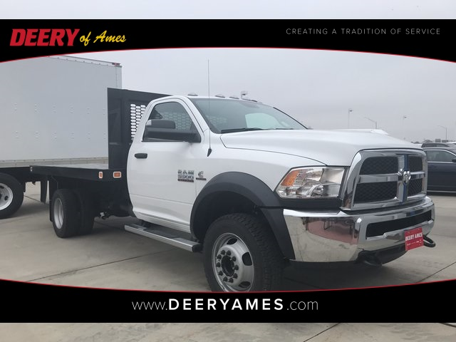 2018 Ram 5500 Regular Cab DRW 4x4, Knapheide Value-Master X Platform Body #R1724 - photo 1