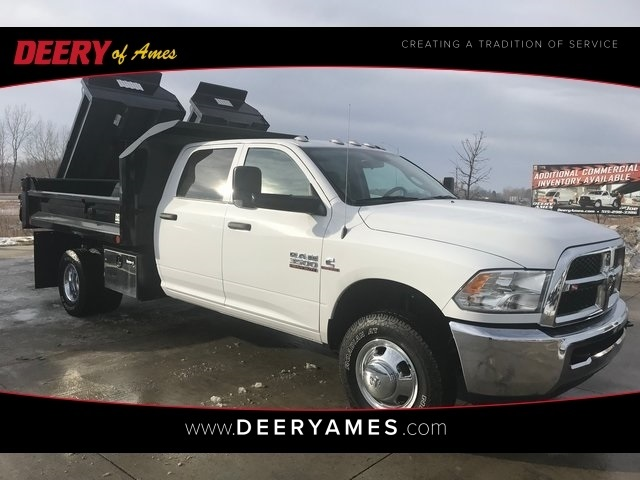 2017 Ram 3500 Crew Cab DRW 4x4,  Crysteel E-Tipper Dump Body #R1803 - photo 1