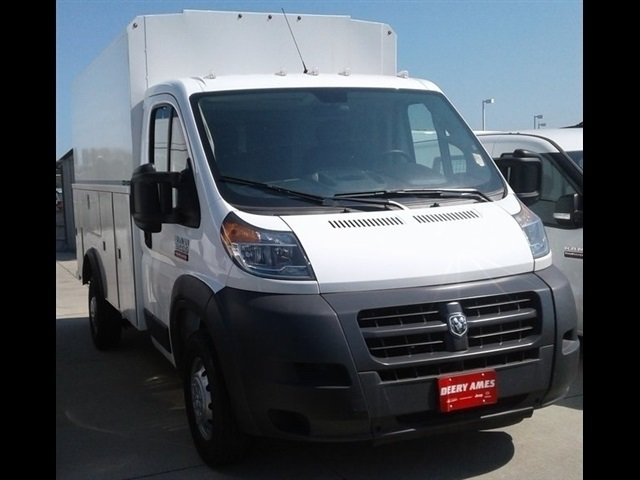 2018 ProMaster 3500 Standard Roof FWD,  Reading Aluminum CSV Service Utility Van #R1924 - photo 4