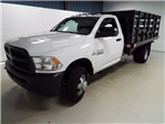 2016 Ram 3500 Regular Cab DRW 4x4, Knapheide Stake Bed #16989-1 - photo 1