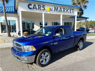 2018 Ram 1500 Quad Cab 4x4, Pickup #18590 - photo 3