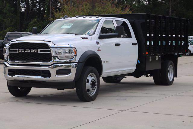 2020 Ram 5500 Crew Cab DRW 4x4,  PJ's Truck Bodies Stake Bed #CL53400 - photo 4