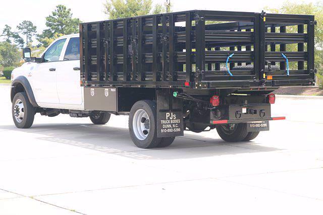 2020 Ram 5500 Crew Cab DRW 4x4,  PJ's Truck Bodies Stake Bed #CL53400 - photo 5