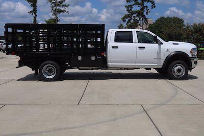 2020 Ram 5500 Crew Cab DRW 4x4,  PJ's Truck Bodies Stake Bed #CL53400 - photo 8