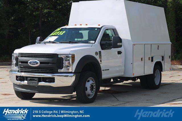 2019 Ford F-550 Regular Cab DRW 4x4, Service Body #M26645A - photo 3