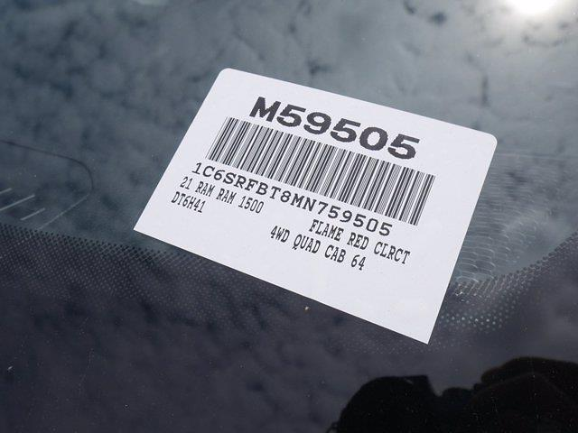 2021 Ram 1500 Quad Cab 4x4, Pickup #M59505 - photo 31