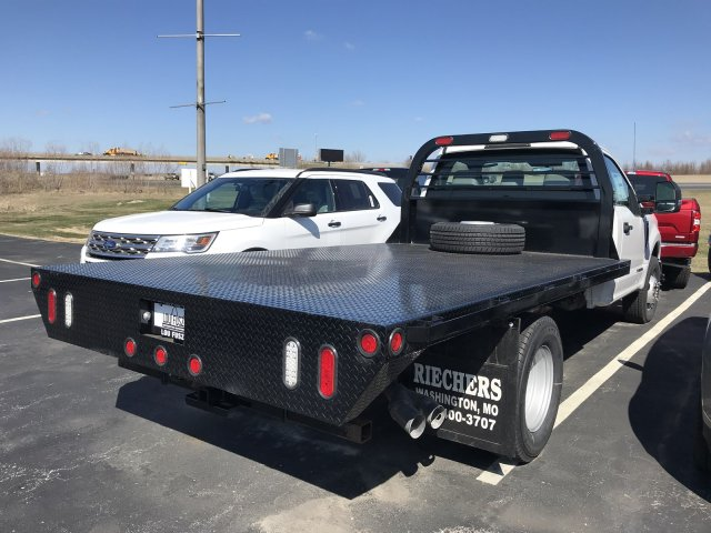2017 F-350 Regular Cab DRW 4x2,  Reading Platform Body #F171914 - photo 2