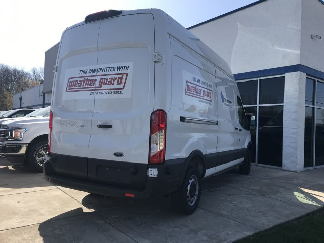 2018 Transit 350 High Roof 4x2,  Weather Guard Upfitted Cargo Van #F18411 - photo 5