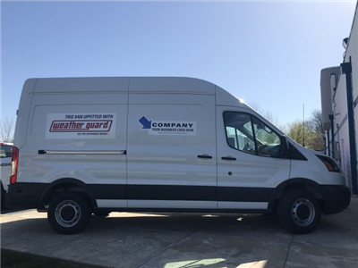 2018 Transit 350 High Roof,  Weather Guard Upfitted Cargo Van #F18411 - photo 4