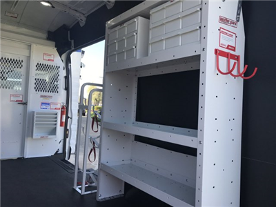 2018 Transit 350 High Roof,  Weather Guard Upfitted Cargo Van #F18411 - photo 3