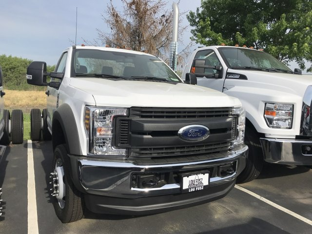 2018 F-450 Regular Cab DRW 4x4,  Cab Chassis #F18970 - photo 3