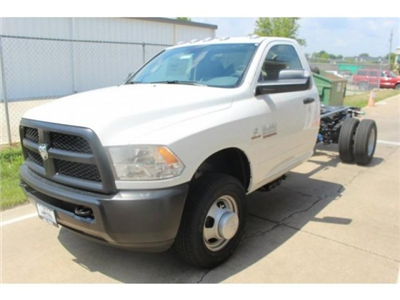 2017 Ram 3500 Regular Cab DRW 4x4, Cab Chassis #DR7327 - photo 1