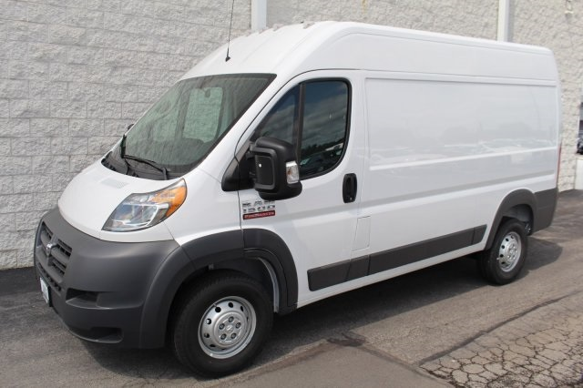 2018 ProMaster 1500 High Roof FWD,  Empty Cargo Van #DR8304 - photo 1