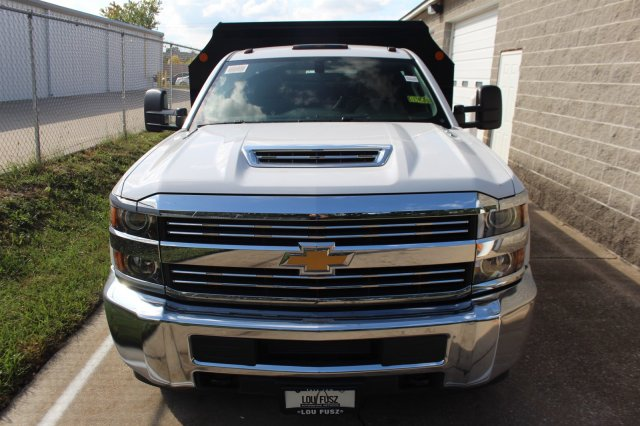 2018 Silverado 3500 Regular Cab DRW 4x4,  Monroe Dump Body #C181340S - photo 5