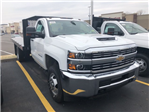 2018 Silverado 3500 Regular Cab DRW 4x4,  Monroe Platform Body #C181371S - photo 1