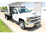 2018 Silverado 3500 Regular Cab DRW 4x2,  Reading Platform Body #C181390S - photo 1