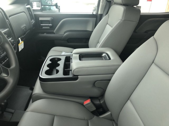 2018 Silverado 3500 Crew Cab DRW 4x4,  Platform Body #C181879S - photo 6