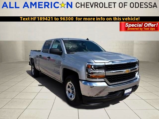 2017 Silverado 1500 Crew Cab,  Pickup #HF189421 - photo 1