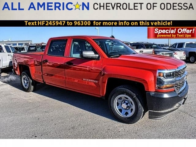 2017 Silverado 1500 Crew Cab, Pickup #HF245947 - photo 1