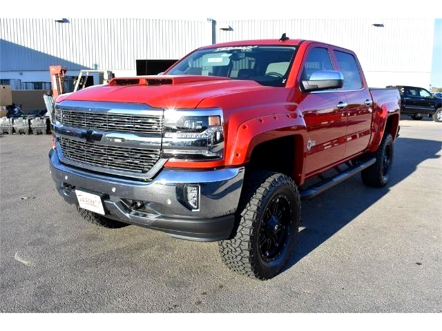 2017 Silverado 1500 Crew Cab 4x4, Pickup #HG184507 - photo 7