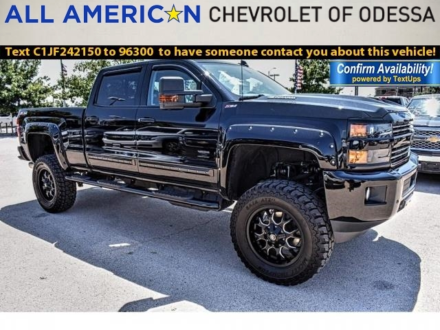 2018 Silverado 2500 Crew Cab 4x4,  Pickup #JF242150 - photo 1