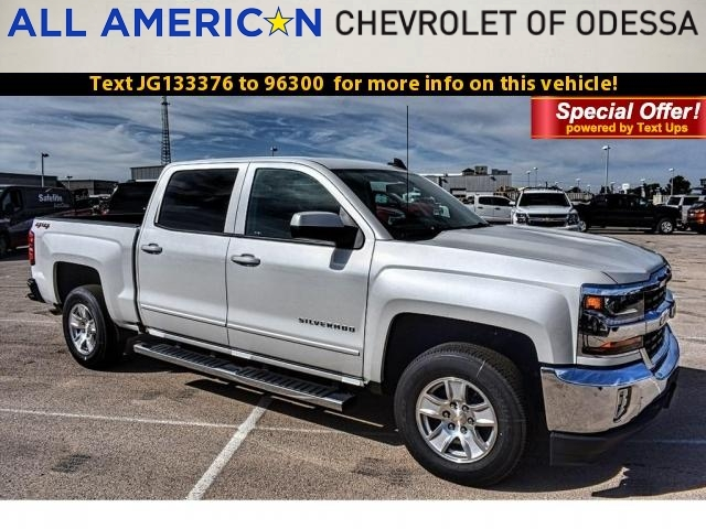 2018 Silverado 1500 Crew Cab 4x4 Pickup #JG133376 - photo 1