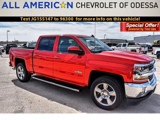 2018 Silverado 1500 Crew Cab, Pickup #JG155147 - photo 1