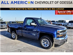 2018 Silverado 1500 Regular Cab 4x4 Pickup #JZ142118 - photo 1