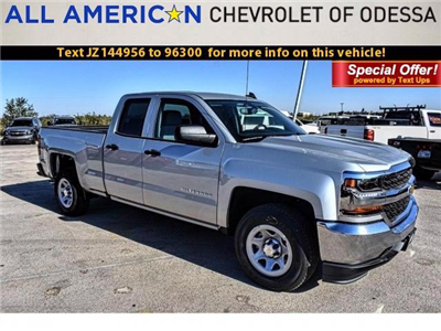 2018 Silverado 1500 Double Cab 4x2,  Pickup #JZ144956 - photo 1