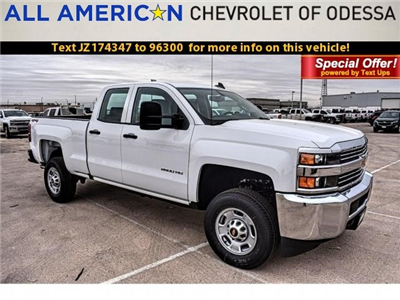 2018 Silverado 2500 Double Cab 4x4, Pickup #JZ174347 - photo 1