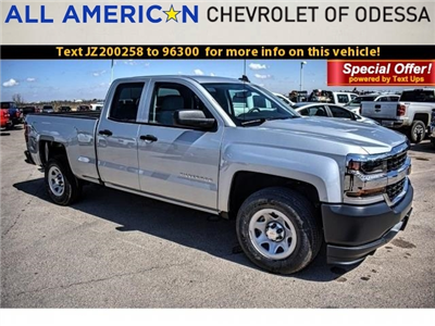 2018 Silverado 1500 Double Cab 4x2,  Pickup #JZ200258 - photo 1
