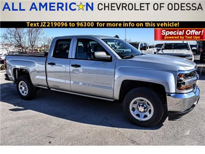 2018 Silverado 1500 Double Cab,  Pickup #JZ219096 - photo 1