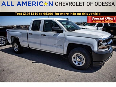 2018 Silverado 1500 Double Cab 4x4, Pickup #JZ261310 - photo 1