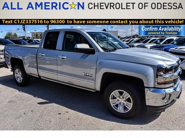 2018 Silverado 1500 Double Cab 4x2,  Pickup #JZ337516 - photo 1
