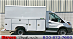 2017 Transit 350, Reading Aluminum CSV Service Utility Van #179575 - photo 1