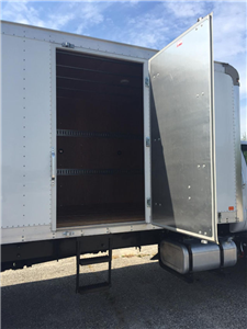 2017 F-650 Regular Cab, Dejana Truck & Utility Equipment DuraBox Cargo Van Box Trucks Dry Freight #179643 - photo 11
